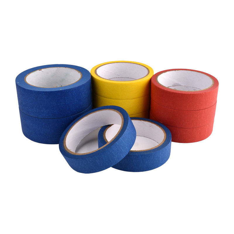Blue Painters Coloured Thin Masking Tape Fit Trim / Woodwork / Glass / Metal