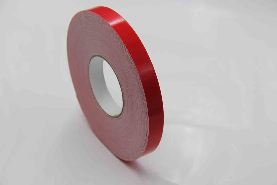 Heat Resistant Double Sided Adhesive Foam Strips PE Door Weatherstirp Sealing