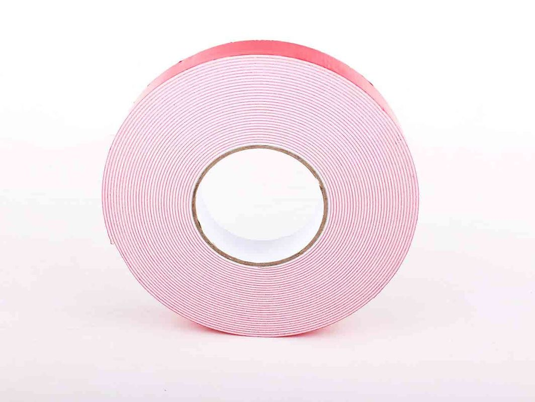 Acrylic Acid Adhesive PE Foam Tape , Double Sided Glazing Tape Fixing Car