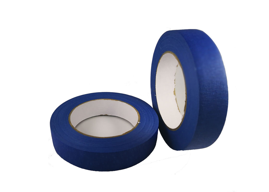 1 Inch Exterior Low Tack Colored Masking Tape For Painting And Car Masking