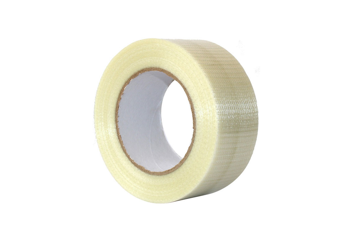 High Adhesion Self Adhesive Mesh Tape Hot Melt Fit Heavy Duty Packaging
