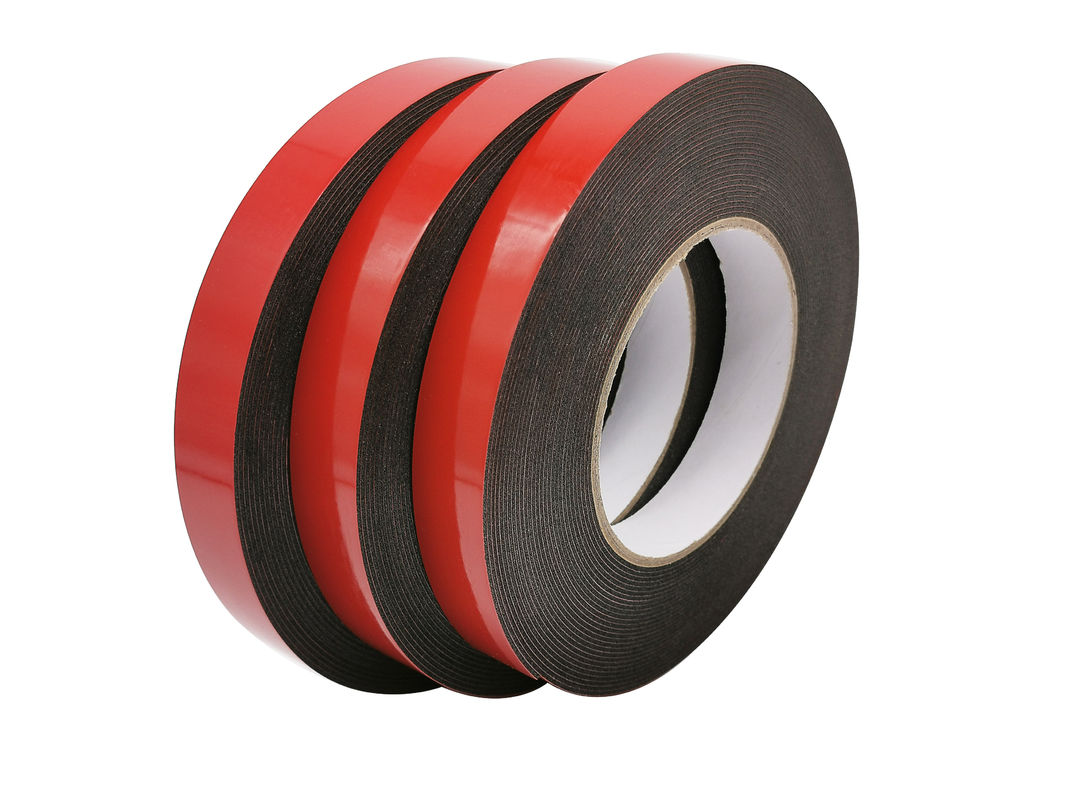 1mm Black Double Sided PE Foam Adhesive Tape For Automotive Mounting