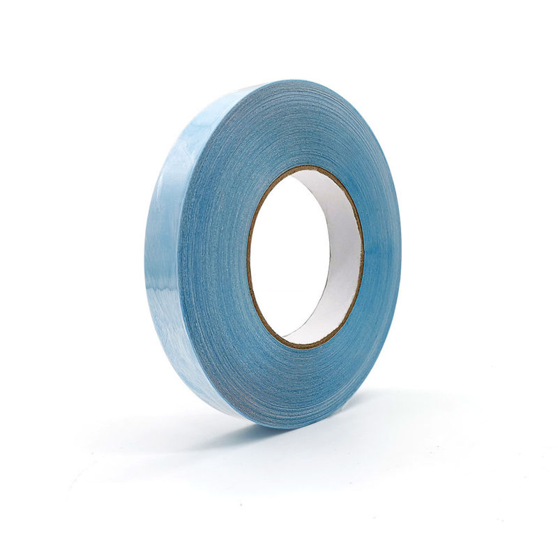 Custom Single Sided Waterproof Self Adhesive Blue Protective Clothing Tape For PPE Suit
